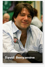 David Benyamine Poker Player