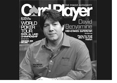 david benyamine photo - card player magazine