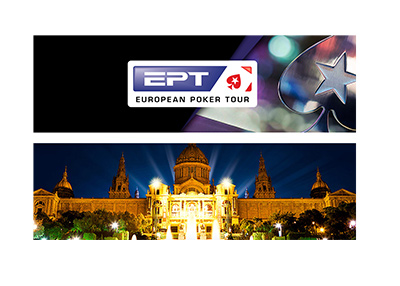 The European Poker Tour - EPT - Barcelona 2018 - Tournament main graphic.