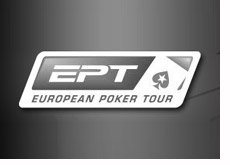 european poker tour - sponsored by pokerstars - ept - logo - black and white
