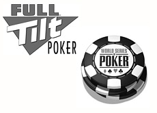 world series of poker logo - full tilt logo