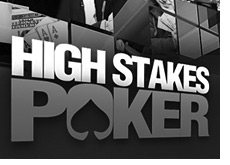 television show logo - high stakes poker - season five 5