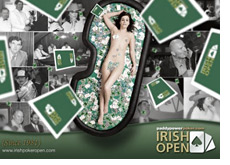 irish open 2008 - event poster