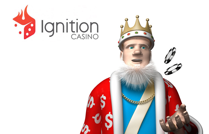 The Poker King presentes Ignition Casino.  Great promos.  Great play.