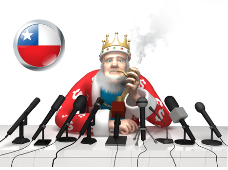 The King - Calificar para la mejor oferta de bonificación posible - Chile