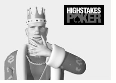 high stakes poker logo - king sharing thoughts about the show