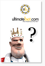 king is wondering about ultimate bet