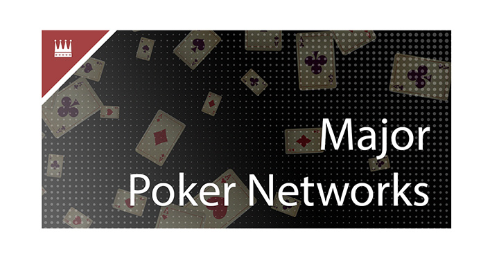 The worlds largest poker networks are presented in this article.