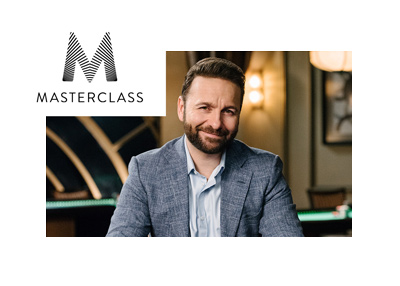 Daniel Negreanu is at Masterclass - Poker lessons - 2018.