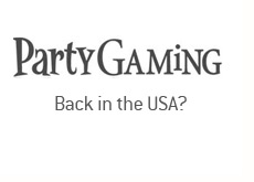 is partygaming coming back to the united states?