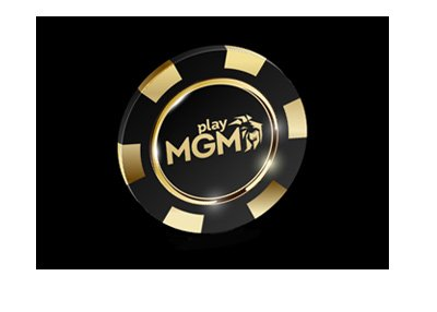 Play MGM chip - 3d rendering.