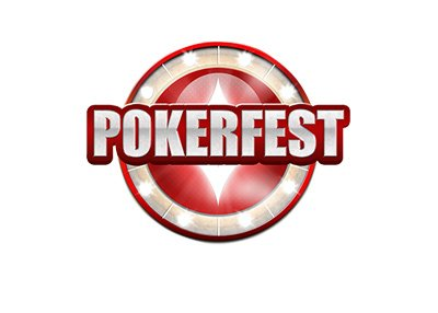 PartyPoker - Pokerfest logo - Isolated on white background.