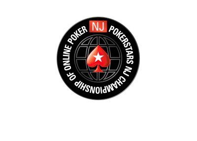 Pokerstars New Jersey - Championship of Online Poker - Logo - White background.