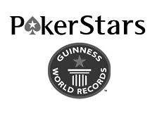 poker room pokerstars is trying to get into the guinness book of records - logo
