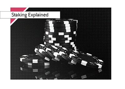 How does staking work in the game of poker?  The King explains.