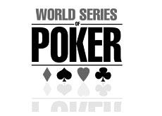 black and white world series of poker logo - wsop