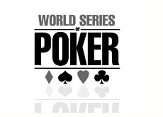 black and white logo - world series of poker - wsop