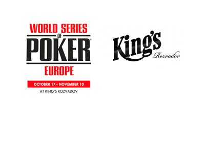 The World Series of Poker Europe 2017 - King Rosvadov - Logo